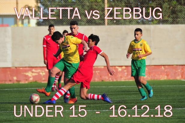 VALLETTA VS ZEBBUG U15