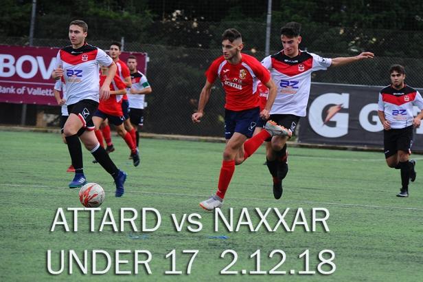 ATTARD VS NAXXAR U17 2 DEC 18