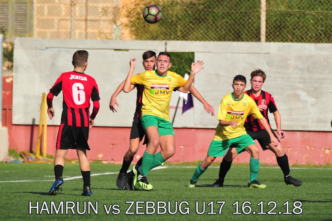 zebbug vs hamrun u17